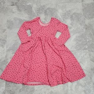 Hanna Andersen girl pockodot dress size 150/14